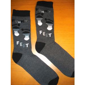 Κάλτσες Μπουρνουζέ Πατούσες (Μαύρο) (Κωδ.585.62.002)