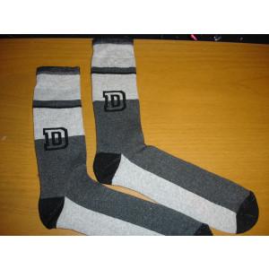 Κάλτσες Μπουρνουζέ (Γκρι Σκούρο) (Κωδ.585.01.003)