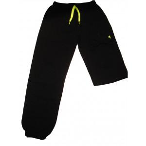 Παντελόνια Φόρμας Μακώ με Στάμπα & Λάστιχο (Μαύρο) (Κωδ.008.22.002) (Ανω των 10 τεμ. 6 €)
