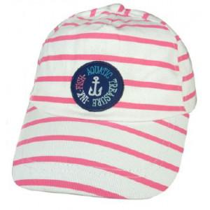 Καπέλο Jockey Ρίγες (Φουξ) (Κωδ.161.512.340)