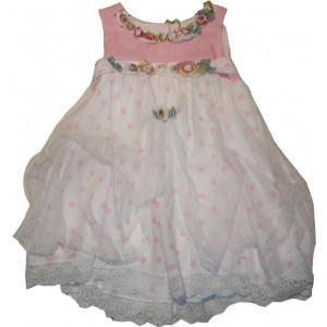 Ολοκληρωμένο Πακέτο Βάπτισηs με αυτό το Φόρεμα (Erofili) (Κωδ.276.112.014)