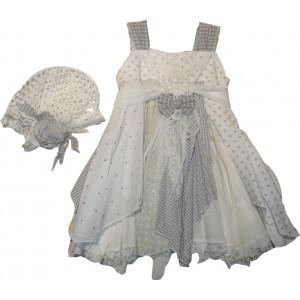 Ολοκληρωμένο Πακέτο Βάπτισηs με αυτό το Φόρεμα (Erofili) (Κωδ.276.112.008)