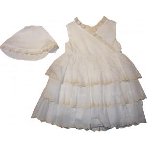 Ολοκληρωμένο Πακέτο Βάπτισηs με αυτό το Φόρεμα (Ευχές) (Κωδ.339.112.023)