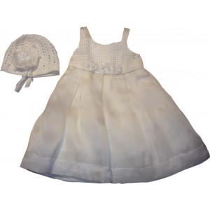 Ολοκληρωμένο Πακέτο Βάπτισηs με αυτό το Φόρεμα (Pierre Cardin) (Κωδ.196.112.017)