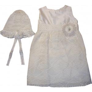 Ολοκληρωμένο Πακέτο Βάπτισηs με αυτό το Φόρεμα (Erofili) (Κωδ.807052)