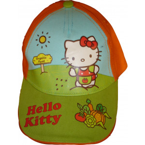 Καπέλο Jockey Hello Kitty (Πορτοκαλί) (Κωδ.161.511.401)