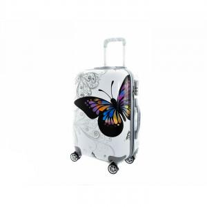 Βαλίτσα Trolley Ταξιδίου  Butterfly  (Κωδ.38202) Δωρεάν μεταφορικά.