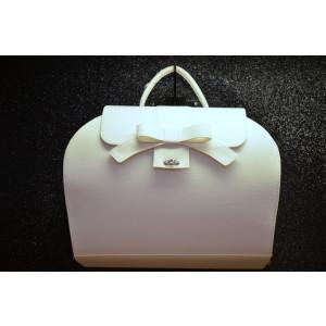 Τσάντα Δερμάτινη Βάπτισης(50563)