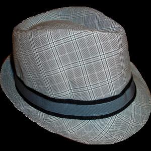 Καπέλο Καρώ (Γκρι Ανοιχτό) (Κωδ.007.125.001)
