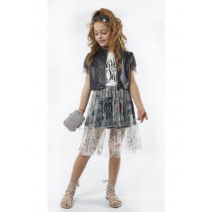 Μπολερό - Φούστα - Μπλούζα Παιδικό (#291.034.032+1#)