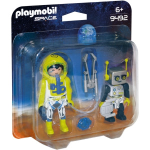 Playmobil Αστροναύτης και Ρομπότ Duo Pack 9492 narlis.gr