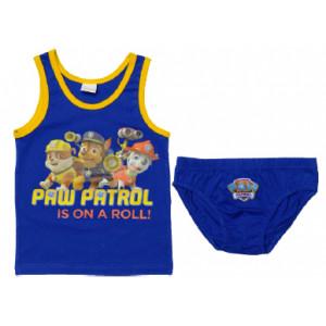 Σετ Φανελάκι & Σλιπάκι Paw Patrol (Nickelodeon) (Μπλε Ρουα) (Κωδ.200.36.038)