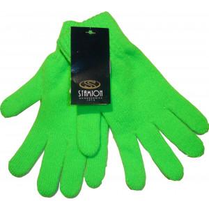 Γάντια Πλεκτά Μονόχρωμα (Λαχανί) (Κωδ.214.504.011)