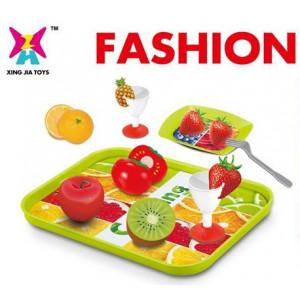Κουζινικά σε Δίσκο με Κομμένα Φρούτα (XJ326H-56)