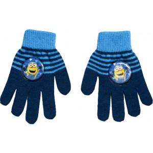 Γάντια Πλεκτά Minions Disney (Μπλε) (Κωδ.200.90.015)