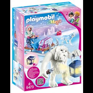 Playmobil Γέτι Με Έλκηθρο 9473, narlis.gr