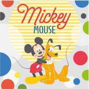 Πετσετάκι - Λαβέτα Mickey Disney (Κωδ.621.01.011)