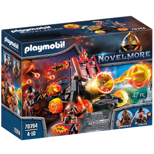 Playmobil Ιππότες Του Μπέρναμ Με Κανόνι Λάβας 70394