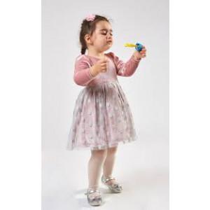 Φόρεμα Pink Velvet ΕΒΙΤΑ 199244