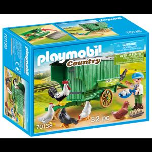 Playmobil Κοτέτσι Με Ρόδες 70138