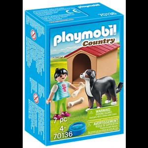 Playmobil Παιδάκι Με Σκύλο 70136