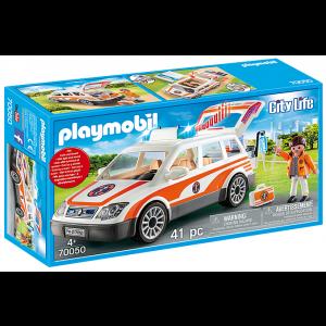 Playmobil Όχημα Πρώτων Βοηθειών (70050)
