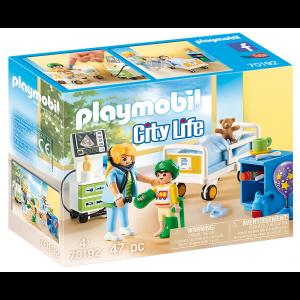 Playmobil Παιδικό Δωμάτιο Νοσηλείας (70192)