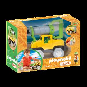 Playmobil Sand, Εκσκαφέας με μηχανισμό γεώτρησης 70064, narlis.gr