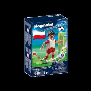 Playmobil Ποδοσφαιριστής Εθνικής Πολωνίας 70486, narlis.gr