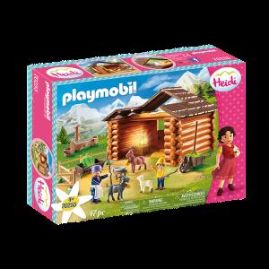 Playmobil Ο Πέτερ και η γιαγιά στη στάνη με τις κατσικούλες 70255, narlis.gr