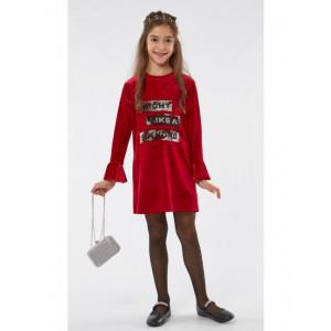 Φόρεμα Βελουτέ Παιδικό Κόκκινο Εβίτα 187067.  291.086.065