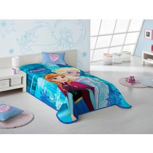 Κουβέρτα Frozen Disney (Κωδ.621.538.010) (Με Δωροεπιταγή 10.40 €)