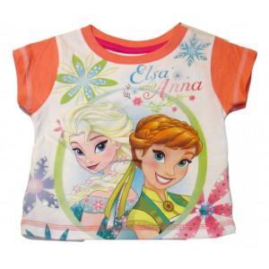 Μπλούζα Κ/Μ Frozen Anna Elsa (Πορτοκαλί) (#200.15.007+9#)