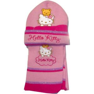 Σκουφάκι & Κασκόλ Hello Kitty Disney (Ροζ) (Κωδ.161.503.209)
