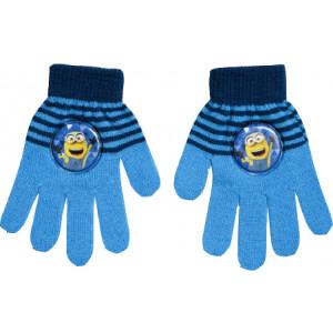 Γάντια Πλεκτά Minions Disney (ΣΙελ) (Κωδ.200.90.015)