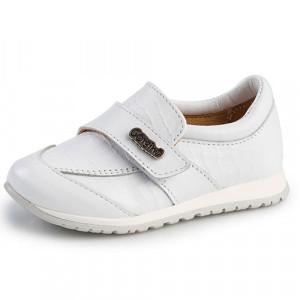 Παπουτσάκι Gorgino (Κωδ.G1057-3) Λευκό (+4€ στο Πακέτο Βάπτισης)