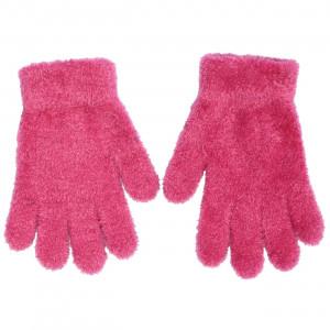 Γάντια Πλεκτά (Μπουκλέ) Μονόχρωμα (Φουξ) (Κωδ.200.90.021)