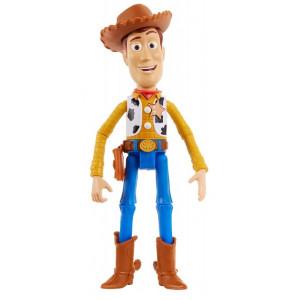 Toy Story 4 Φιγούρα Woody 18εκ. Μιλάει Αγγλικά (GDP80)