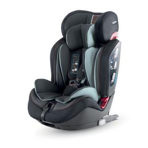 Inglesina Παιδικό Κάθισμα αυτοκινήτου 9-36 κιλά Isofix Gemino Black narlis.gr