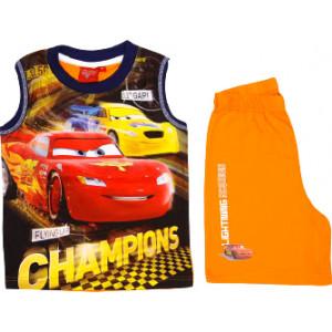 Σετ Παιδικό X/Μ Μακώ Cars Disney (Πορτοκαλί) (Κωδ.200.43.013)
