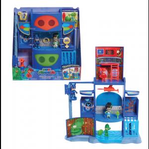 Giochi Preziosi PJ Masks Αρχηγείο Mission PJM76000 Κωδ. 797.342.034