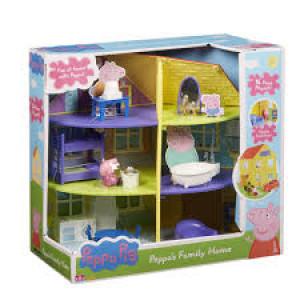 Giochi Preziosi Peppa Pig Το Σπίτι της Πέππα PPC22000 Κωδ. 797.342.016