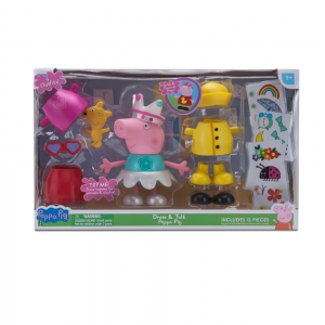 Giochi Preziosi Peppa Pig Φιγούρα Dress PPC57000 Κωδ. 797.342.019