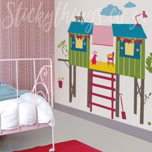 Ταπετσαρία Girls Tree House HS60020