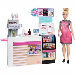 Barbie Καφετέρια Με Κούκλα (GMW03)