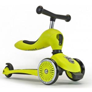 Scoot and Ride Ποδήλατο Ισορροπίας & Πατίνι 2 σε 1 HighWayKick 1,Green