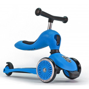 Scoot and Ride Ποδήλατο Ισορροπίας & Πατίνι 2 σε 1 HighWayKick 1,Blue