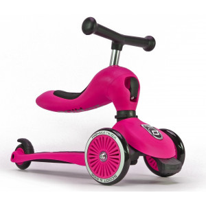 Scoot and Ride Ποδήλατο Ισορροπίας & Πατίνι 2 σε 1 HighWayKick 1,Pink