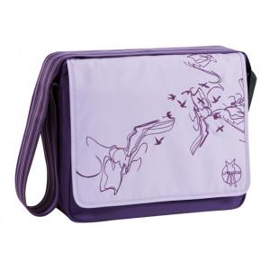 Lassig τσάντα αλλαγής Butterfly viola (LMB1040439) Δωρεάν αποστολή με αντικαταβολή με courier