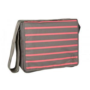 Lassig τσάντα αλλαγής  Slate-striped (LMB1324576) Ένα τεμάχιο